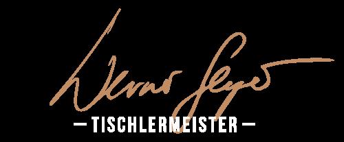 Werner Seyer - Tischlermeister